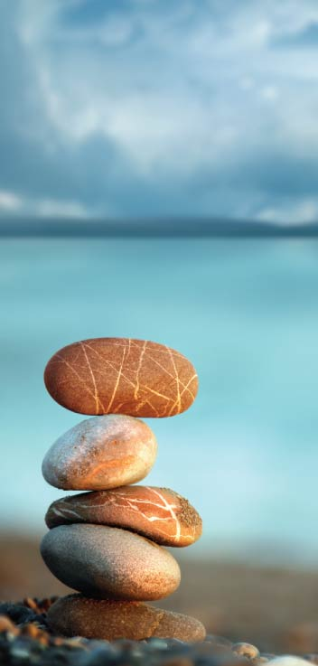 Soothing rocks image